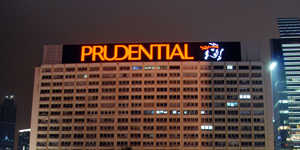 Pru shines as investors seek safe havens, shun FTSE