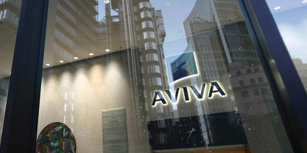 Dividend fears hit Aviva but banks power FTSE higher