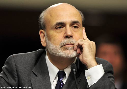 FTSE rises as Bernanke keeps his foot on the QE pedal