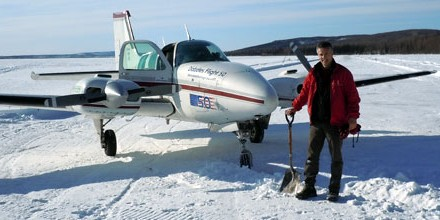 Meet the City worker who breaks aviation world records in his spare time