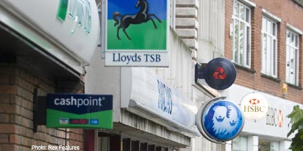 Barclays, RBS and Lloyds swept up by S&P's string of downgrades
