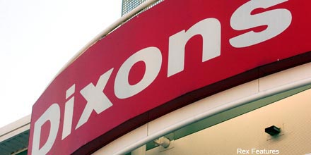 Dixons boosted by Comet failure; markets rally