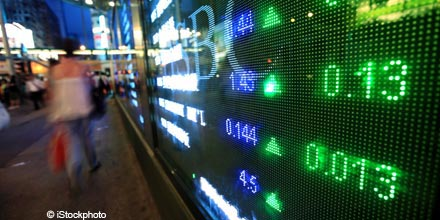 Overnight Markets: Most US stocks up as investors weigh Obama speech