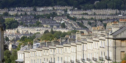 House prices flat as market 'dogged by uncertainty'