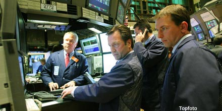 Dow bursts through 13,400 as Fed pulls QE3 trigger