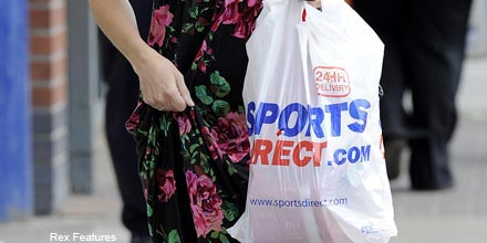 Sports Direct leads FTSE 100 towards third day of losses