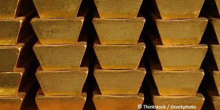 Gold surges, shares drop as January slumber lifts