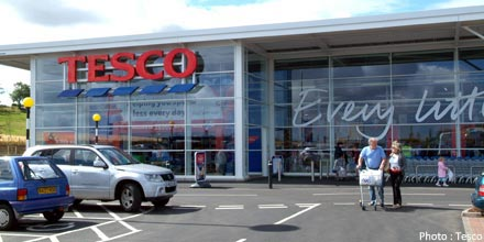 Tesco UK sales continue to fall
