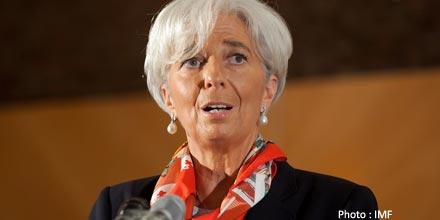 IMF's Lagarde dismisses Greek hopes of debt relief