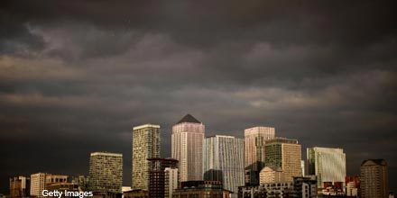 Moody's downgrades UK banks as government support removed
