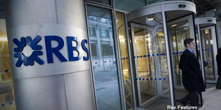 Soaring RBS props up FTSE ahead of US jobs figures