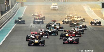F1 drivers: risk averse when not behind the wheel