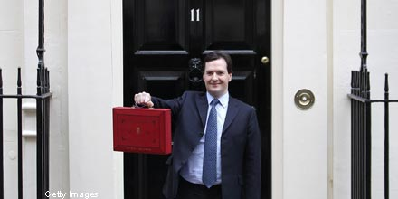 Budget 2012: Osborne introduces cap on income tax relief