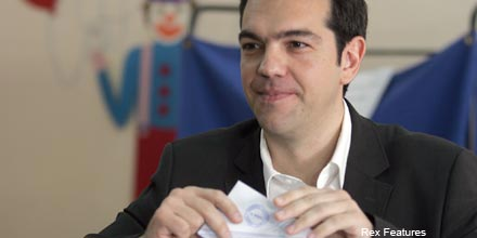 Markets dive as Greek leftist says austerity plan 'null'
