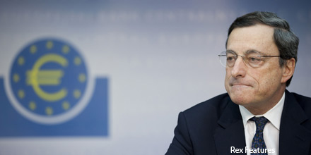 Draghi's fighting talk helps euro swing back