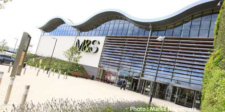 Marks & Spencer jumps as pension debt cut