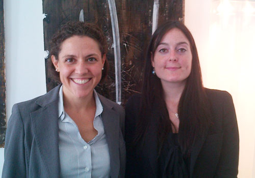 Citywire's Beatrice gets in the frame with Chiara Bellon of Vontobel Europa in Milan