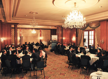 Delegates at Citywire's Vienna event attend the group workshops and presentations