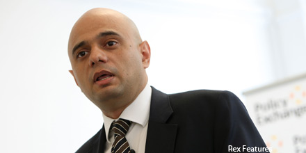 Treasury's Sajid Javid replaces Maria Miller as culture secretary