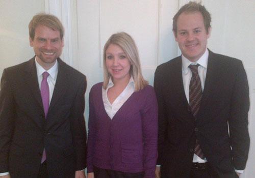 Visiting Patrick Schultz and Stefanie Wolf of Donner & Reuschel