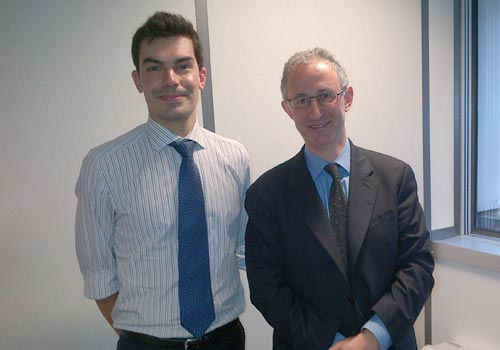 Citywire chairman Lawrence Lever meets Philippe Gaboriau of Barclays Wealth Management
