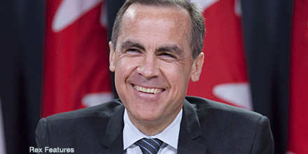 Mark Carney named as new Bank of England governor