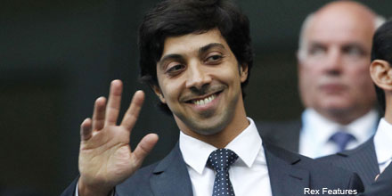 Man City boss Sheikh Mansour adds to Barclays