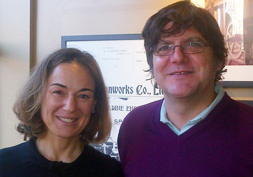 Coffee with Eva Zaragoza of Accelerando Associates in London