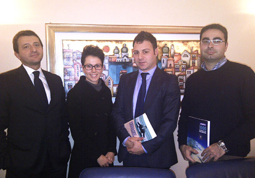 Greeting the Consultique team in Verona
