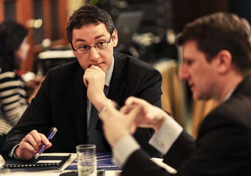 Wenn der Fondsmanager spricht, wird aufmerksam zugehört