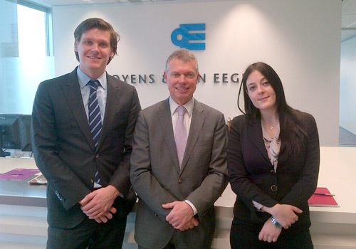 A meet and greet with with Jos Jongen and Michiel Lely of Bank Oyens & Van Eeghen