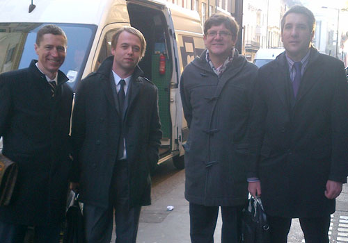 Breakfast in Mayfair with Slovenia's top selectors