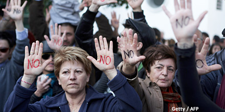 'Troika out!': how Cyprus' rallying cry could inspire euro revolt