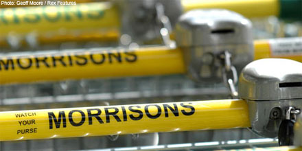 Supermarket shares offloaded after Morrisons 'meltdown'
