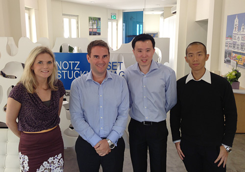 Citywire catches up with Cédric Stadelmann and Khin Chong Lim in Notz Stucki's new Singapore office