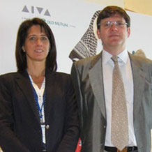 Meeting Veronica Rey of Aiva at Punta del Este, Uruguay