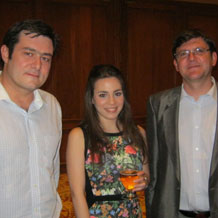Drinks with Sebastian Gazmuri of Sartor Investments in Chile Lucia Sandoval