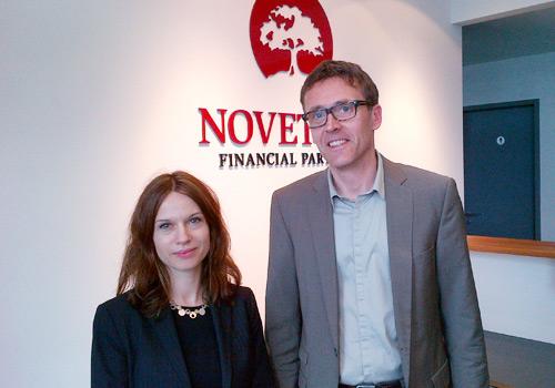 Zu Besuch in München bei Gregor Müller, Novethos