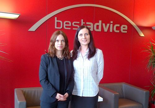 Zu Besuch bei Julia Kuzomka, bestadvice in München