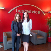 Meeting with Julia Kuzomka of Bestadvice in Munich