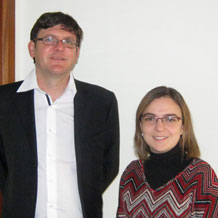 With Fiorella Battilana, fund of funds manager at Penta Administradora de Fondos in Chile