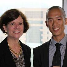 Nick Tay meets Citywire AAA-rated Asian small cap star Linda Csellak in Hong Kong