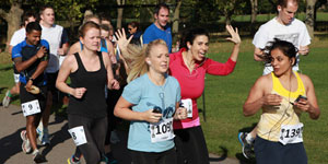 Citywire 10k run: watch all the action from our charity race