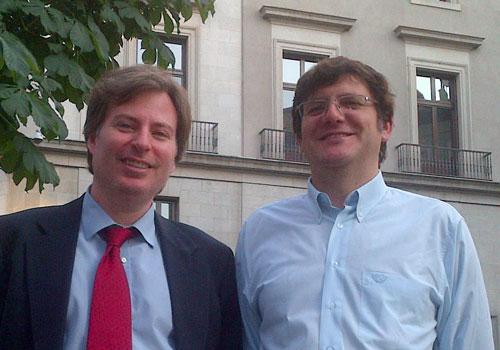 Con Daniel Aymerich, Banco Inversis
