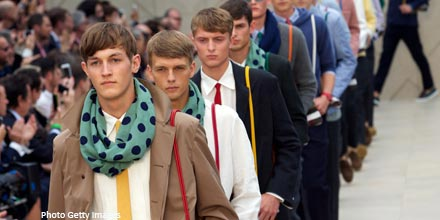 Burberry in fashion as global growth outlook lifts FTSE