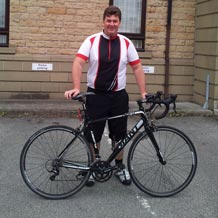 Rob Mitchell, of WFI Financial, is doing the Investec Ashes Charity Challenge