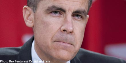 Carney: UK faces first 'lost decade' since 1860