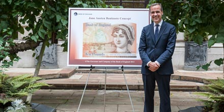 Jane Austen to appear on £10 banknote