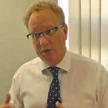 Keith Churchouse of Chapters financial talks about the benefits of apprentice recruitment