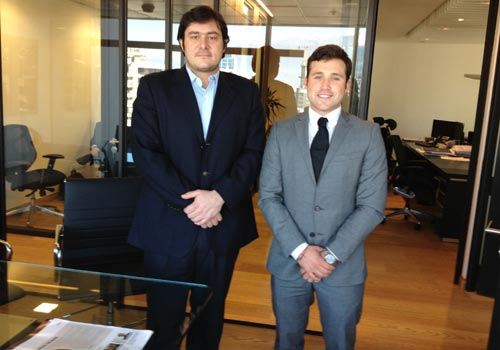 Alejandro meets Sebastian Gazmuri from Sartor Investments in Chile
